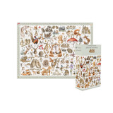 'A Country Set' Jigsaw Puzzle by Wrendale Designs.