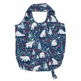 Polar Bear Christmas Roll-up Bag.