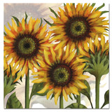 Sunflowers Greetings Card by Emma Ball.