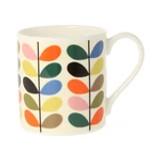 Multi Color Multi Stem Fun Bone China Mug by Orla Kiely
