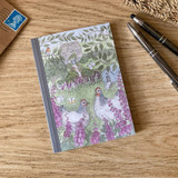 Mosney Mill Hens in Foxgloves A6 Notepad