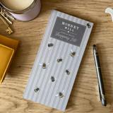 Mosney Mill Grey Bee Shopping List Pad