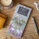 Mosney Mill Hens in Foxgloves Shopping List Pad