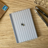 Mosney Mill Grey Bee A6 Notepad