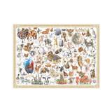 ''Farmyard Friends' Jigsaw Puzzle by Wrendale Designs.