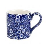 Burleigh Blue Calico Half Pint Mug