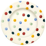 "Emma Bridgewater Polka Dot 8 1/2"" Plate"
