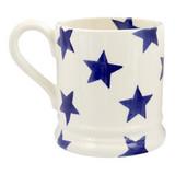 Emma Bridgewater Blue Star Half Pint Mug