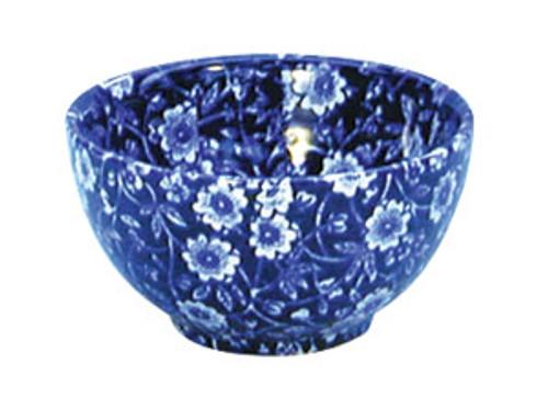 Blue Calico Sugar Bowl Small