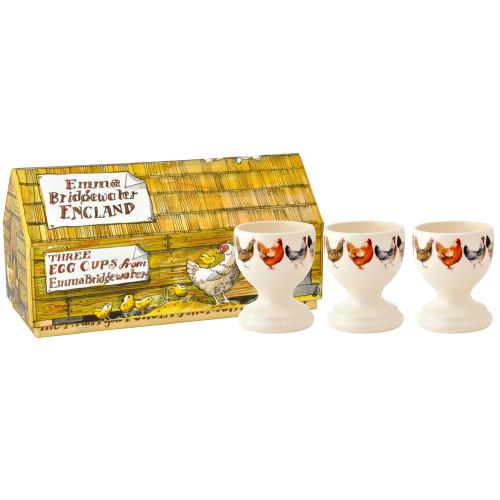 Hen & Toast Set of 3 Egg Cups 2016