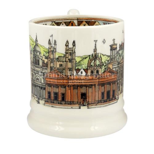 Emma Bridgewater Edinburgh pottery half pint mug boxed.