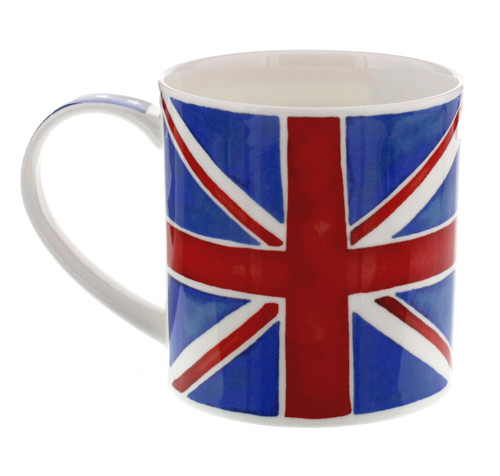 Orkney Union Stars bone china mug from Dunoon, England.