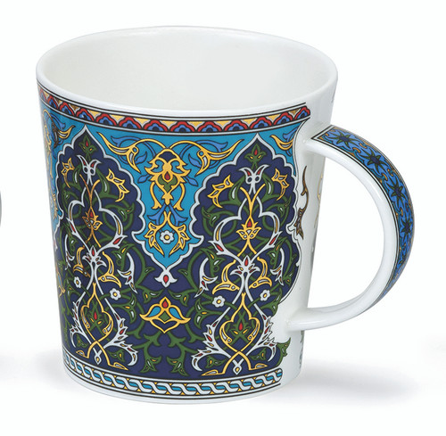 Dunoon Lomond Sheikh green bone china mug.