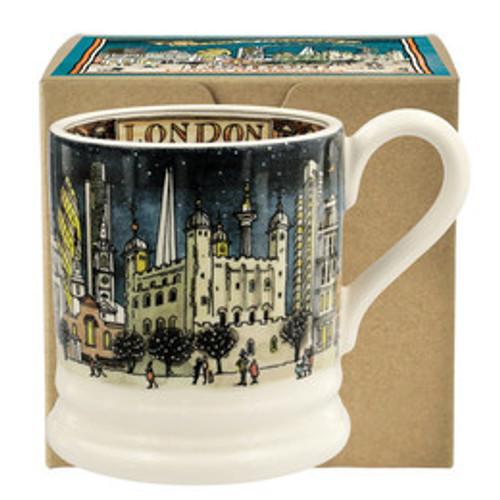 Emma Bridgewater London at Night pottery half pint mug boxed.