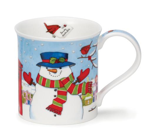 Dunoon Bute Christmas Post snowman mug.