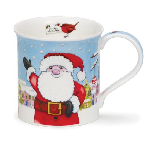 Dunoon Bute Christmas Post santa mug.