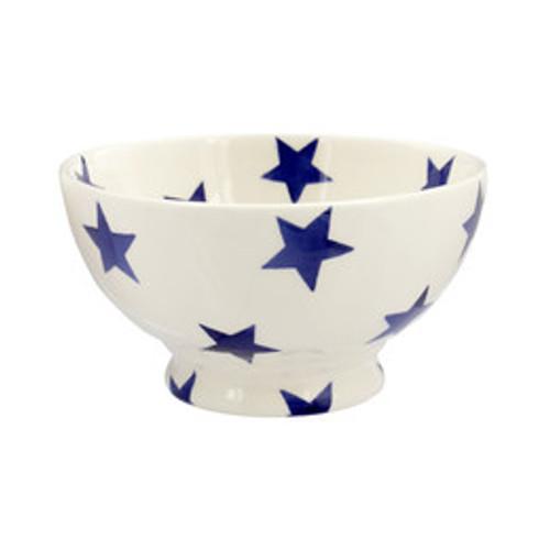 Emma Bridgewater Blue Star French bowl. Handmade in England.