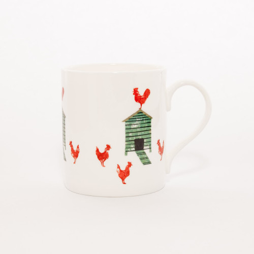 Hen House fine bone china mug from Izzirainey.