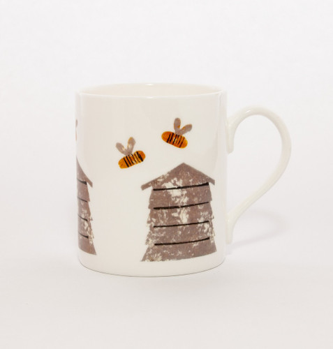 Bee Hive fine bone china mug from Izzirainey.