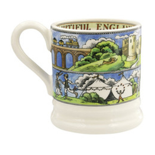 Emma Bridgewater Beautiful England half pint mug.