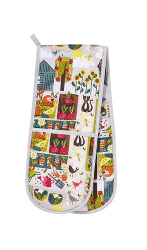 Ulster Weavers Home Grown cotton double oven glove.