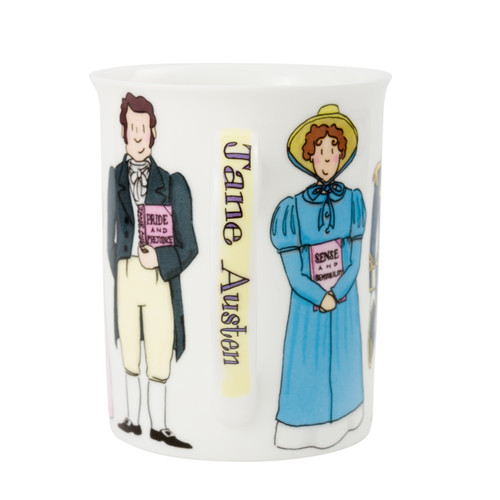 Jane Austen Characters Mug Boxed