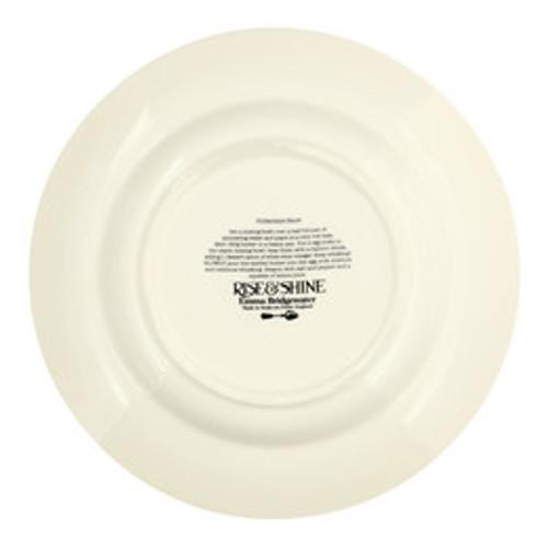 Emma Bridgewater Rise & Shine Hollandaise 10 1/2 inch plate.
