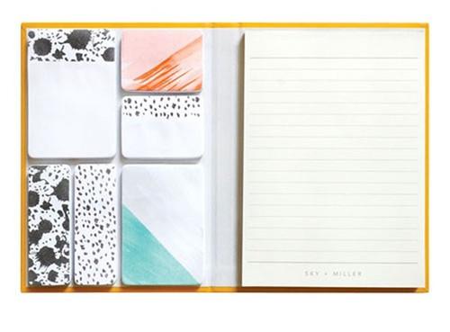 Sky + Miller Embossed Memo Notes Bee