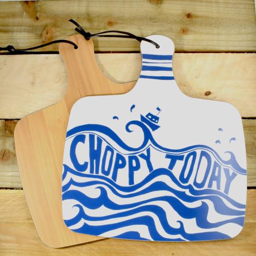 Port & Lemon Choppy Today Kitchen Board