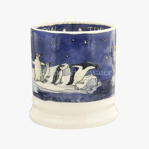 Emma Bridgewater Winter Penguins  1/2 Pint Mug