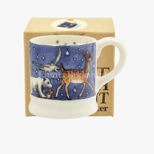 Winter Animals Tiny Mug decoration boxed.