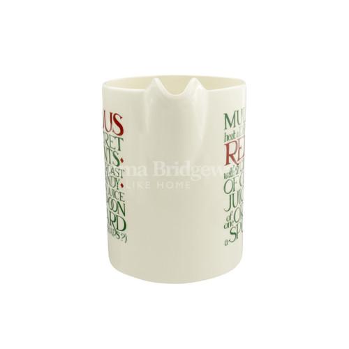 Emma Bridgewater Christmas Toast Straight-Sided Jug