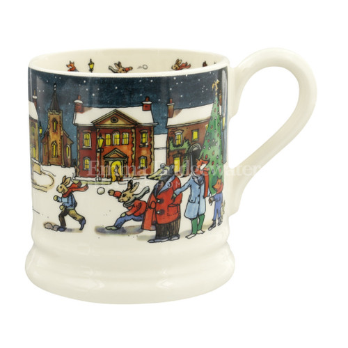 Emma Bridgewater Winter Scene  1/2 Pint Mug