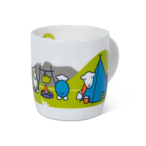 herdy camper mug. Made in England.