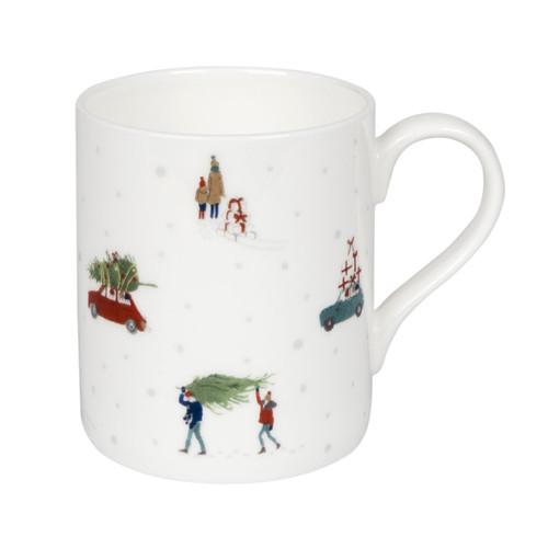Sophie Allport Home for Christmas Mug