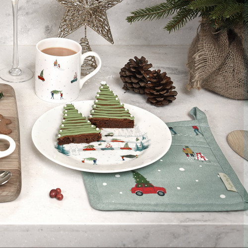 Sophie Allport Home for Christmas Side Plate