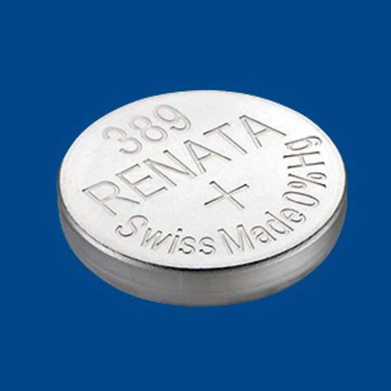 Renata Silver Oxide Cell Battery 389 SR1103W