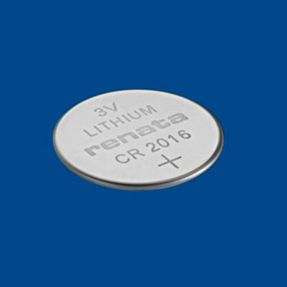 Renata 3V Lithium Cell Battery CR2016