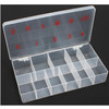 11-Slot Soft Plastic Large Tip Box 100/Box