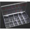 Hard Plastic11-Slot Large Tip Box 100/Box