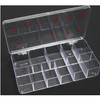 11-Slot Hard Plastic Large Tip Box
