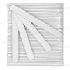 USN File Round Zebra 80/80 Grit 50/Pack