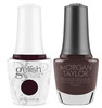 GELISH/MORGAN TAYLOR Two Of A Kind - Caviar On Ice 0.5oz. 2/Pack*