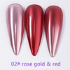 INSTANT Mirror Effect Rose Gold & Red #2
