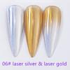 INSTANT Mirror Effect Laser Silver & Laser Gold #6