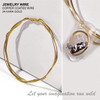 "JEWELRY WIRE 24 Kara Gold 0.02"" Diameter x 40"" Length"