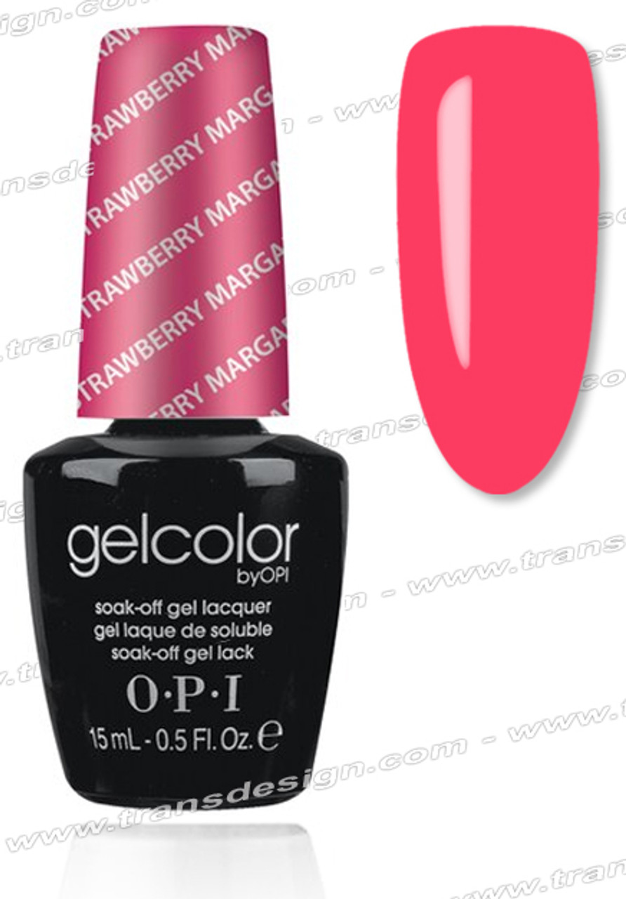 Opi Gelcolor Strawberry Margarita 0 5oz Tdi Inc