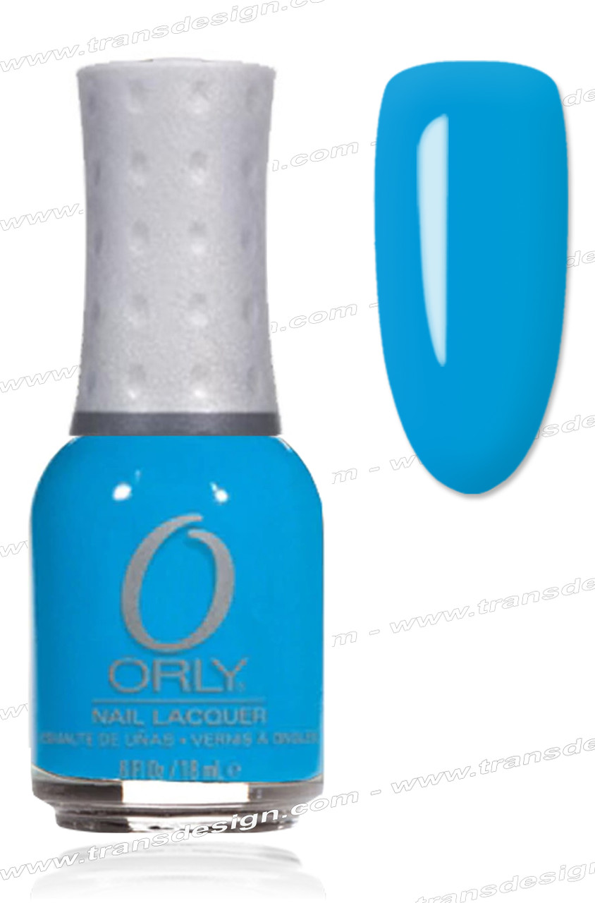 Orly Nail Lacquer Blue Collar Tdi Inc