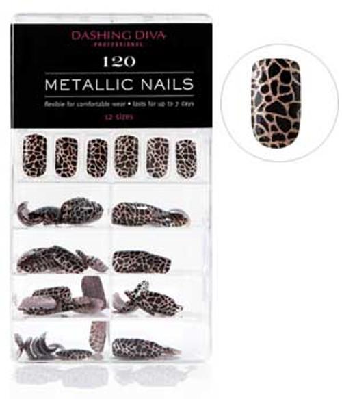 Dashing Diva - Metallic Nails - Animal Instincts *