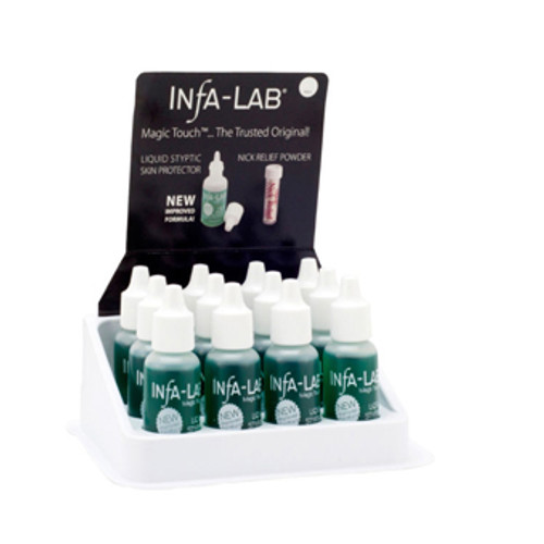INFA - LAB Magic Touch Liquid Styptic Skin Protector 12/Pack